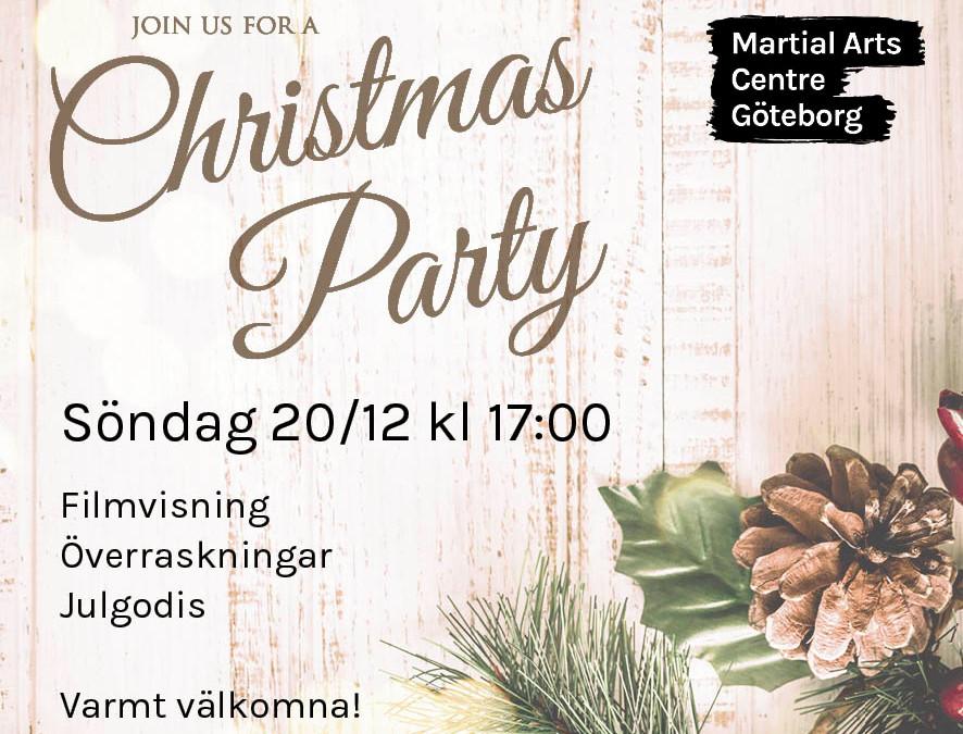 Julfest 20 december kl 17:00