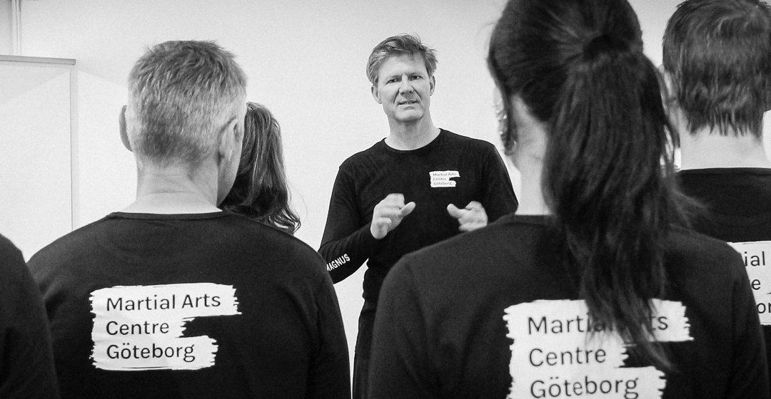 Sifu Magnus undervisar i Mindfulness på Balettakademien i Göteborg!